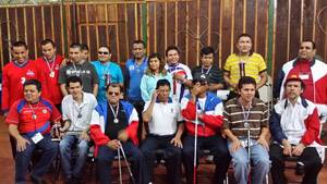 Los guerreos de Centroamérica en foto de familia.