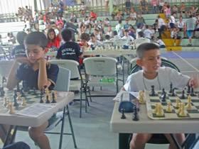 Final Escolar de Ajedrez 2014 en Cañas